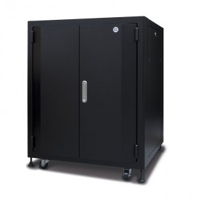 18RU Fully Assembled Soundproof Free Standing Acoustic Server Cabinet