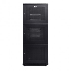 42RU 800mm Wide & 1000mm Deep Fully Assembled 3 Door Co-Location Free Standing Server Cabinet