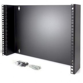 8RU Wall Mount Patch Panel Bracket - 19 Inch Wide & 102mm Deep