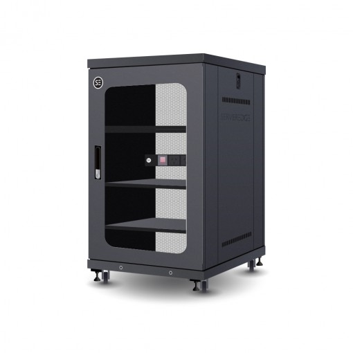 18RU 600mm Wide & 800mm Deep Fully Assembled Free Standing Server Cabinet