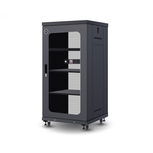 Serveredge 22RU 600mm Wide & 600mm Deep Fully Assembled Free Standing Server Cabinet