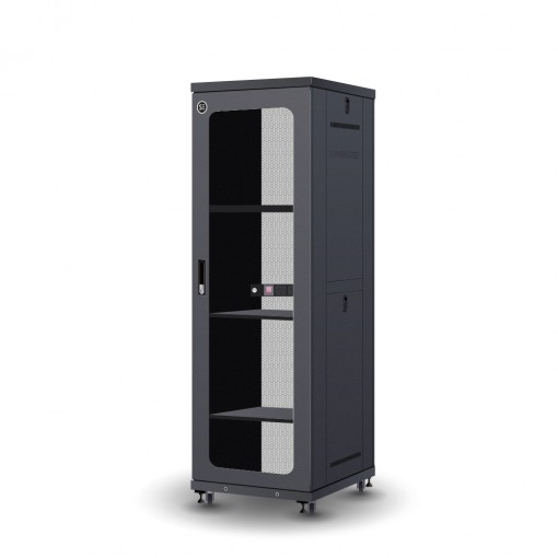 Serveredge 37RU 600mm Wide & 800mm Deep Fully Assembled Free Standing Server Cabinet