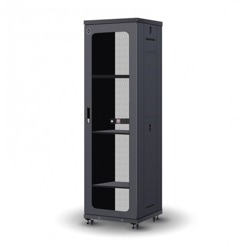 42RU 600mm Wide & 600mm Deep Fully Assembled Free Standing Server Cabinet