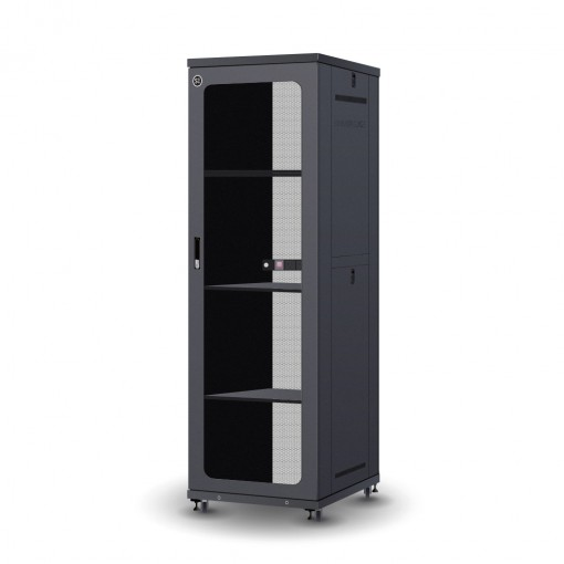 45RU 800mm Wide & 1000mm Deep Fully Assembled Free Standing Server Cabinet