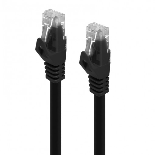 Serveredge 0.5m Black CAT6 network Cable