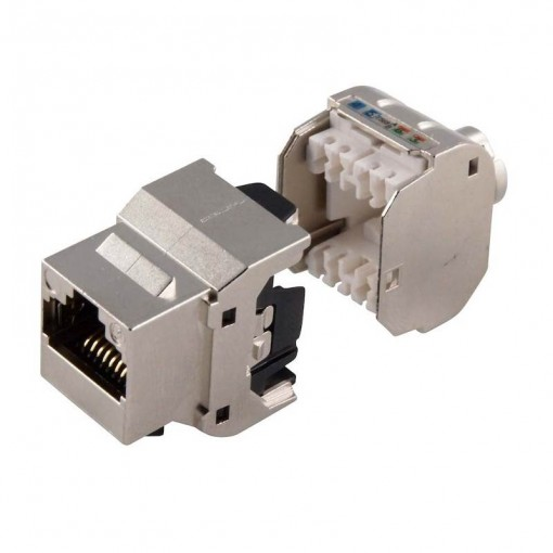 Cat 6A Shielded 10 Gigabit Keystone Jack