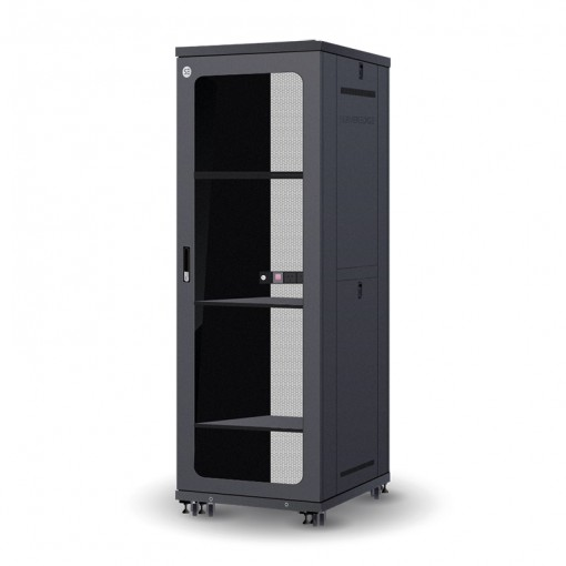 Serveredge 42RU 800mm Wide & 1000mm Deep Fully Assembled Free Standing Server Cabinet