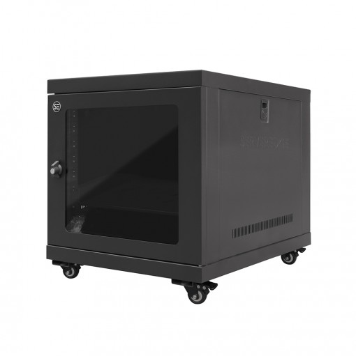 Serveredge 9RU 600mm Wide & 600mm Deep Fully Assembled Free Standing Server Cabinet