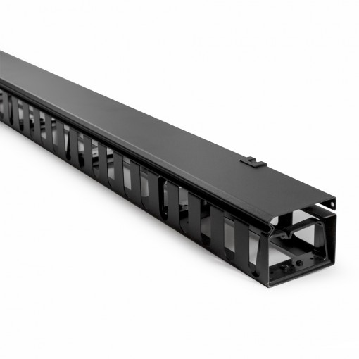 Serveredge 27RU Vertical Cable Manager with Finger Ducts for 800mm Wide Cabinets