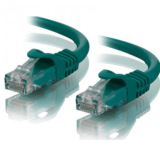 1m Green CAT5e Network Cable