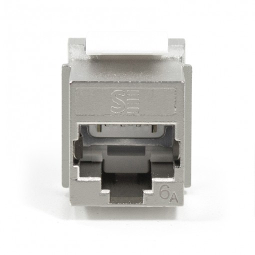 UNIVERSAL CAT6A, STP, RJ45 MODULAR KEYSTONE JACK - Comes in Pack of 10