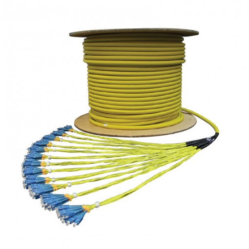 Pre-terminated Fibre Optic Cable Assemblies - Series Alpha
