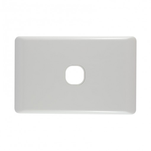 1 Gang Wall Plate - Clipsal Compatible (White)