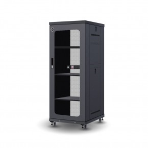 27RU 600mm Wide & 800mm Deep Fully Assembled Free Standing Server Cabinet