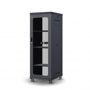 32RU 600mm Wide & 800mm Deep Fully Assembled Free Standing Server Cabinet