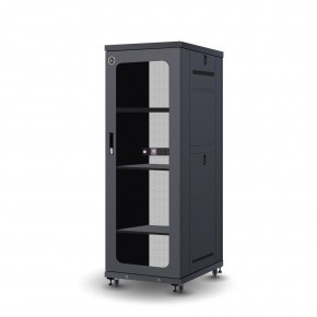 32RU 600mm Wide & 1000mm Deep Fully Assembled Free Standing Server Cabinet