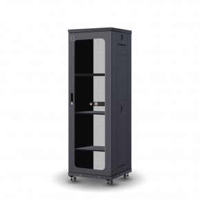 37RU 600mm Wide & 600mm Deep Fully Assembled Free Standing Server Cabinet
