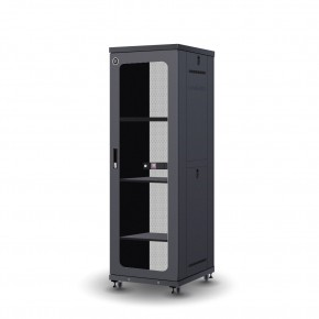 37RU 600mm Wide & 800mm Deep Fully Assembled Free Standing Server Cabinet