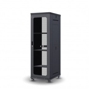 37RU 600mm Wide & 1000mm Deep Fully Assembled Free Standing Server Cabinet