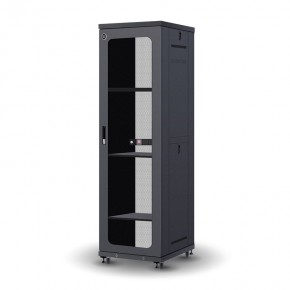 42RU 600mm Wide & 800mm Deep Fully Assembled Free Standing Server Cabinet