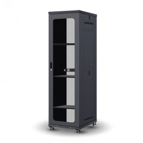 42RU 600mm Wide & 1000mm Deep Fully Assembled Free Standing Server Cabinet