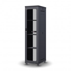 Serveredge 48RU 800mm Wide & 1000mm Deep Fully Assembled Free Standing Server Cabinet