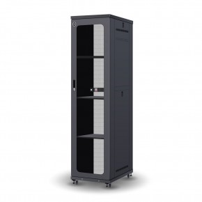 Serveredge 48RU 800mm Wide & 1200mm Deep Fully Assembled Free Standing Server Cabinet
