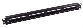 24 Port 1RU CAT5e Patch Panel