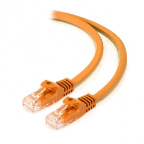 1m Orange CAT6 network Cable