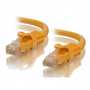 1m Yellow CAT5e Network Cable