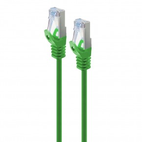 Serveredge 1.5m Green CAT6A Slim S/FTP Network Cable