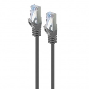 Serveredge 0.3m Grey CAT6A Slim S/FTP Network Cable