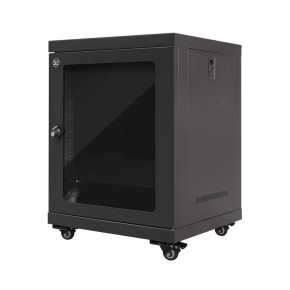 12RU 600mm Wide & 450mm Deep Fully Assembled Free Standing Server Cabinet