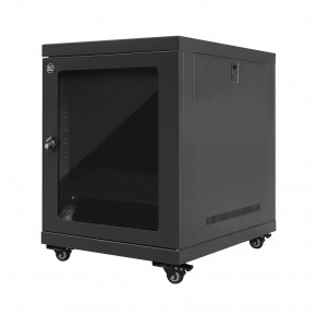12RU 600mm Wide & 600mm Deep Fully Assembled Free Standing Server Cabinet