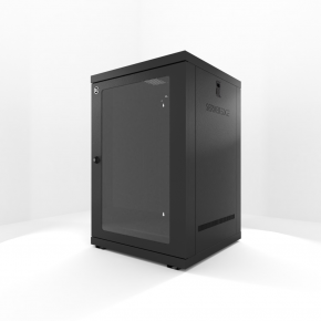 18RU 600mm Wide & 600mm Deep Fully Assembled Wall Mount Server Cabinet