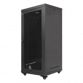 24RU 600mm Wide & 600mm Deep Fully Assembled Free Standing Server Cabinet