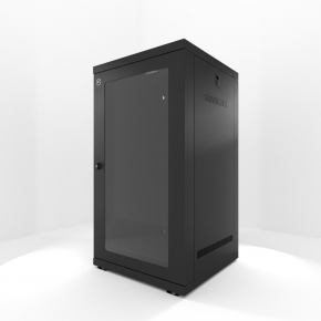 24RU 600mm Wide & 600mm Deep Fully Assembled Wall Mount Server Cabinet