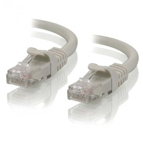 1m Grey CAT5e Network Cable