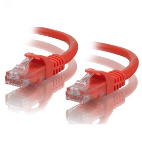 1m Orange CAT5e Network Cable