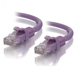 0.5m Purple CAT5e Network Cable