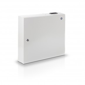 Fibre Wall Mount Enclosure Dual Face Plate with Splice Cassette & Splice Protector