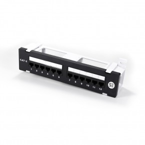 Serveredge 12 Port CAT6 Surface Mount Patch Panel - UTP