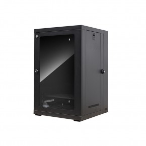 18RU 600mm Wide & 550mm Deep Fully Assembled Swing Frame Hinged Wall Mount Cabinet