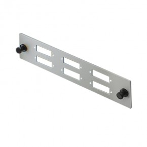Series Alpha 6 Port SC Duplex Face Plate - Suitable for Series Alpha SAFP Series Fobots
