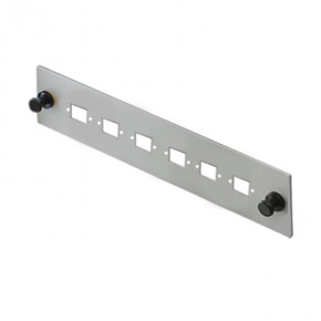 Serveredge 6 Port LC Duplex Face Plate - Suitable for SAFP Series Fobots