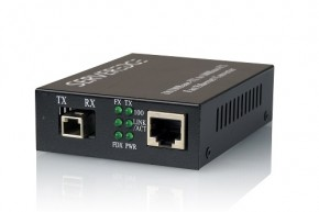 Serveredge 10/100Base-TX to 100Base-FX Multimode MTRJ Fibre Media Converter (2km)
