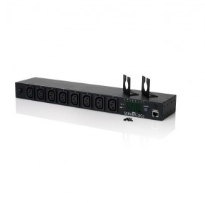 8 Port Switched PDU (8) IEC C13 Output & (1) IEC C20 Input, 16A, 240V