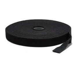 Ty-It 25m Hook & Loop Continuous Double Sided Velcro Roll : 12mm Wide