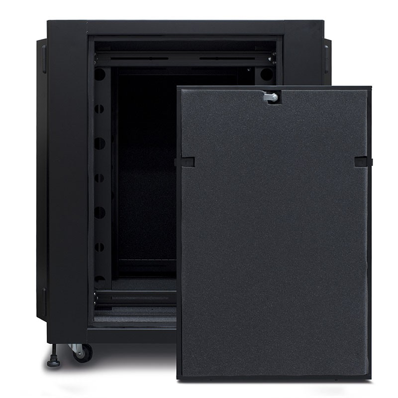 Pre Assembled Kitchen Cabinets Online: 18RU Fully Assembled Soundproof Free Standing Acoustic